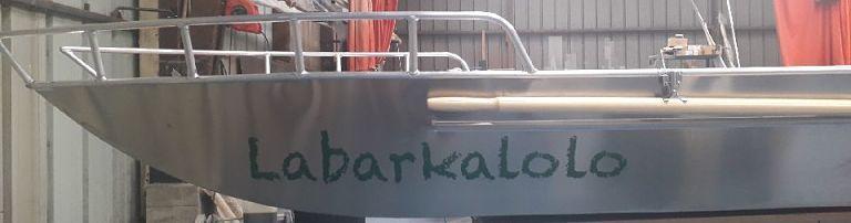 barque peche aluminium