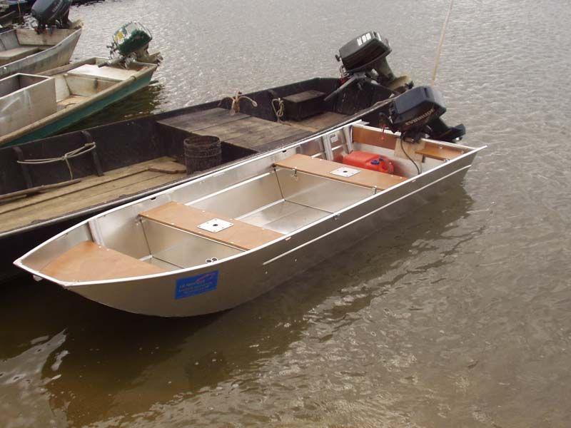 barque peche alu