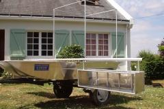 Barque fait main - réalisation unique en aluminium_1