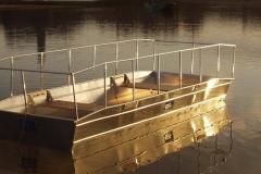 Barque fait main - réalisation unique en aluminium_10