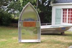 Barque fait main - réalisation unique en aluminium_14