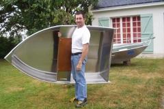 Barque fait main - réalisation unique en aluminium_18