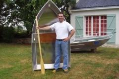 Barque fait main - réalisation unique en aluminium_19