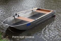 Barque fait main - réalisation unique en aluminium_23