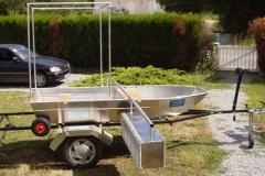 Barque fait main - réalisation unique en aluminium_3
