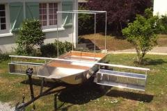 Barque fait main - réalisation unique en aluminium_4