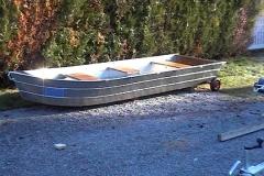 Barque fait main - réalisation unique en aluminium_47