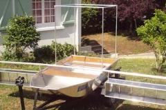 Barque fait main - réalisation unique en aluminium_5