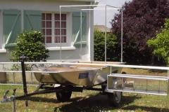 Barque fait main - réalisation unique en aluminium_6