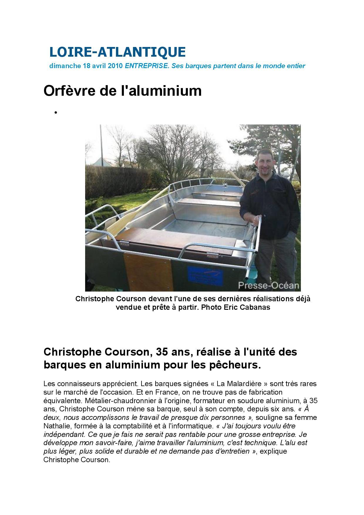 Presse Océan page 1