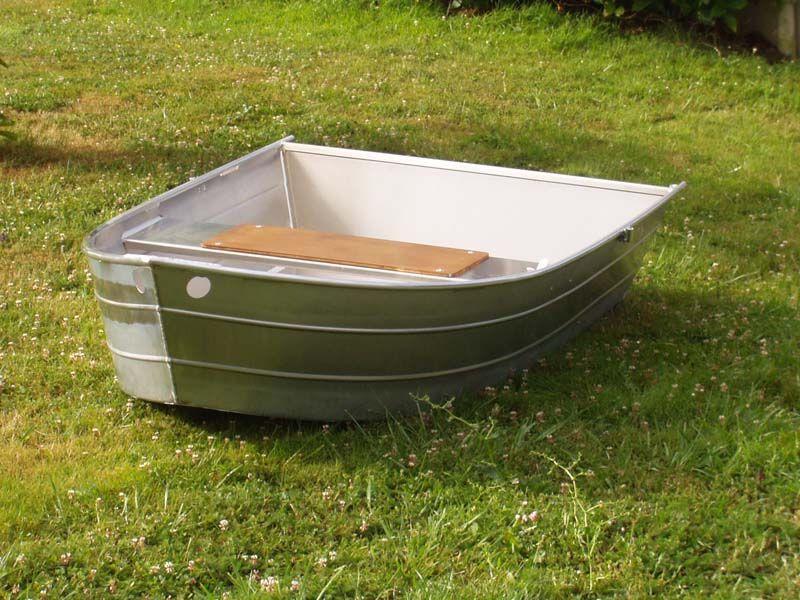 Barque fait main - réalisation unique en aluminium_15