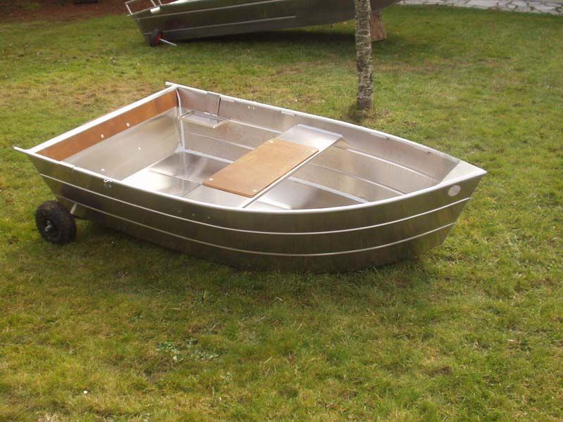 Barque fait main - réalisation unique en aluminium_16