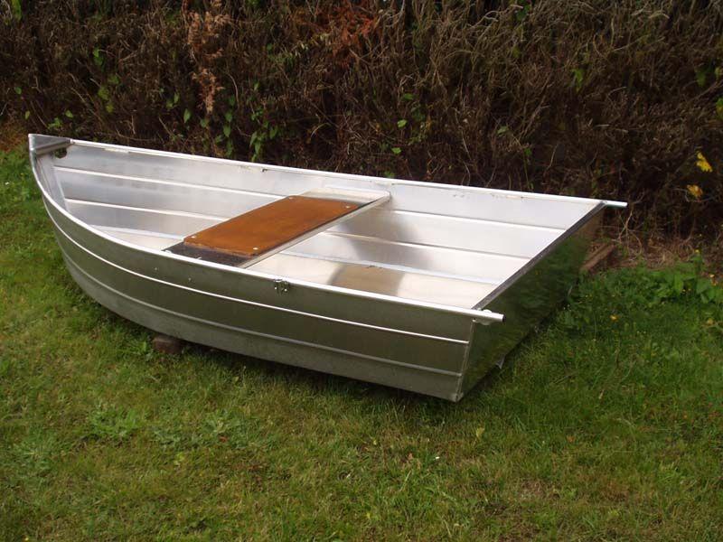 Barque fait main - réalisation unique en aluminium_17