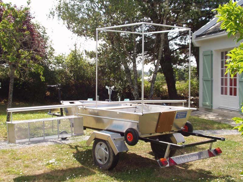 Barque fait main - réalisation unique en aluminium_2