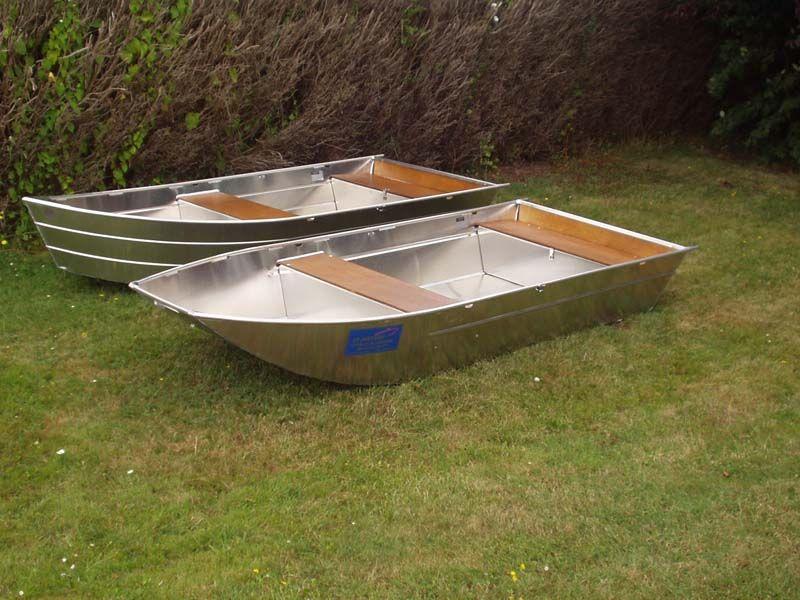 Barque fait main - réalisation unique en aluminium_24