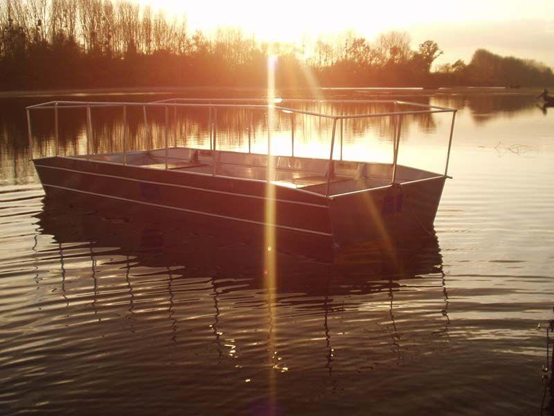 Barque fait main - réalisation unique en aluminium_25