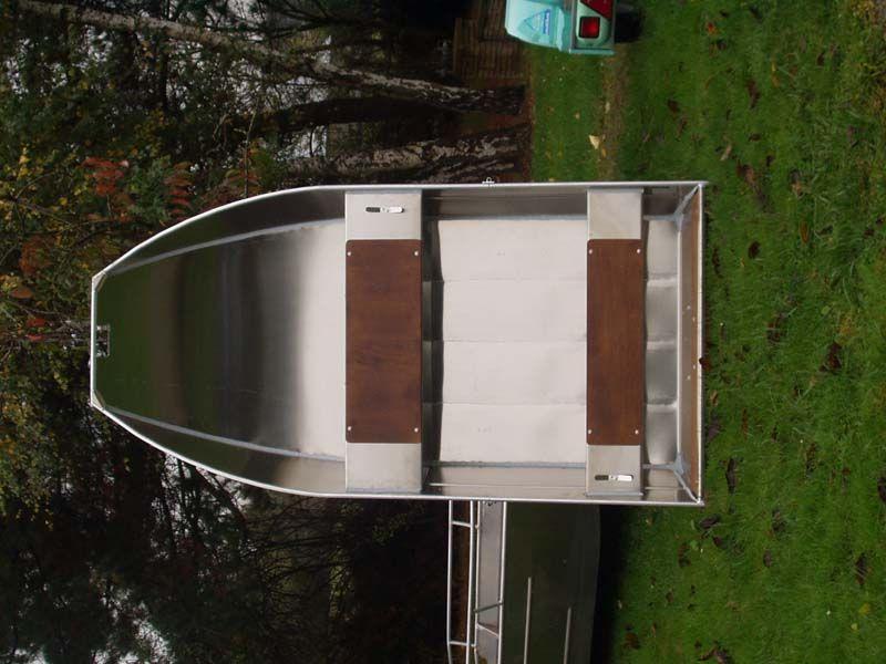 Barque fait main - réalisation unique en aluminium_28