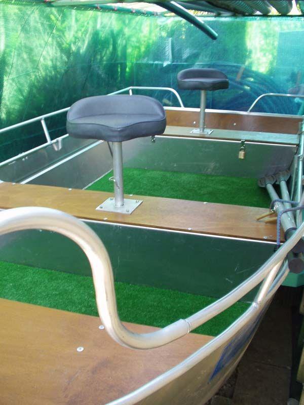 Barque fait main - réalisation unique en aluminium_29