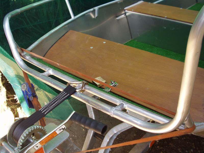 Barque fait main - réalisation unique en aluminium_31