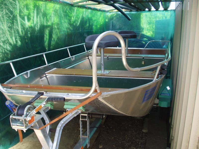 Barque fait main - réalisation unique en aluminium_32