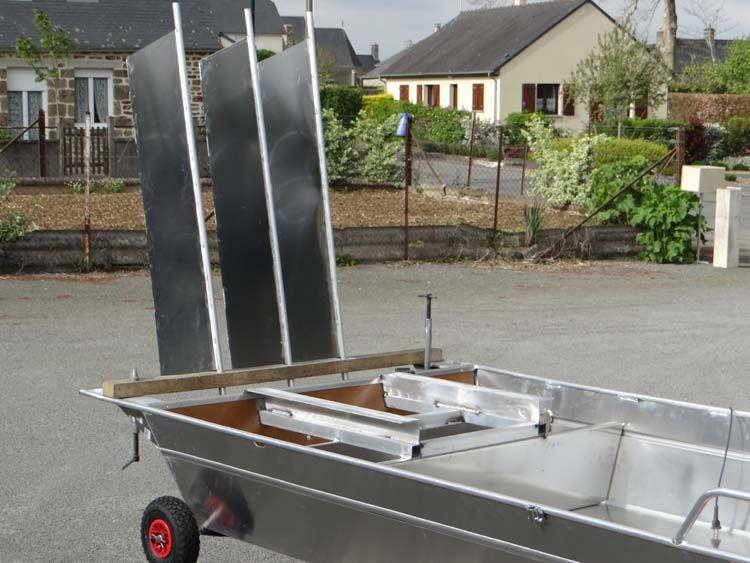 Barque fait main - réalisation unique en aluminium_42