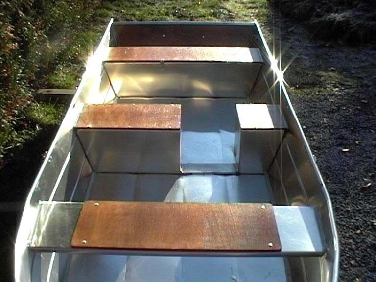 Barque fait main - réalisation unique en aluminium_46