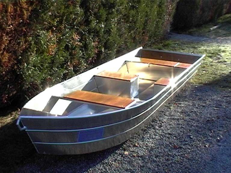 Barque fait main - réalisation unique en aluminium_48