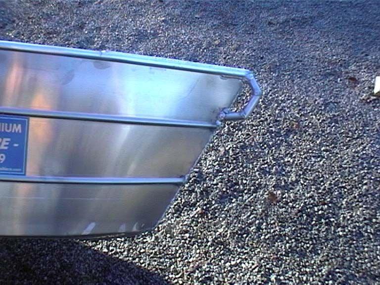 Barque fait main - réalisation unique en aluminium_50