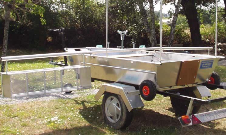 Barque fait main - réalisation unique en aluminium_53