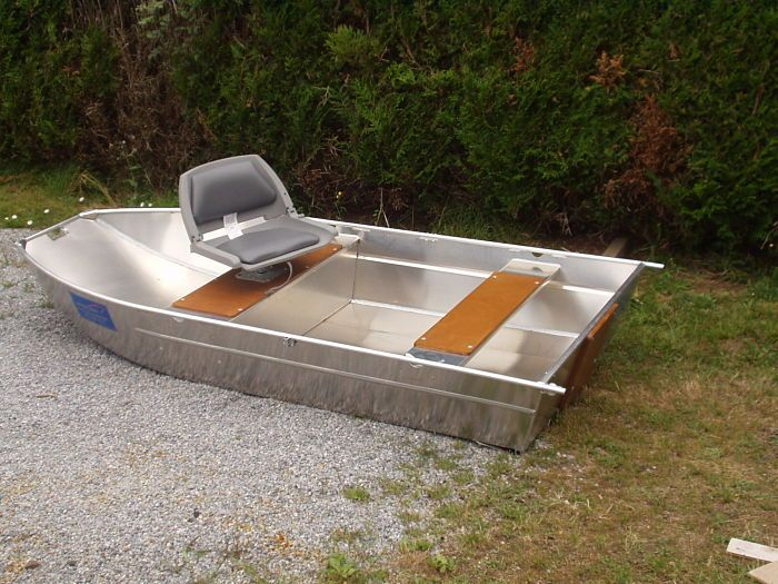 Barque en aluminium - Siège_1