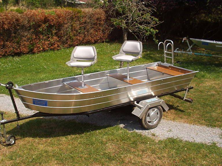 Barque en aluminium - Siège_2