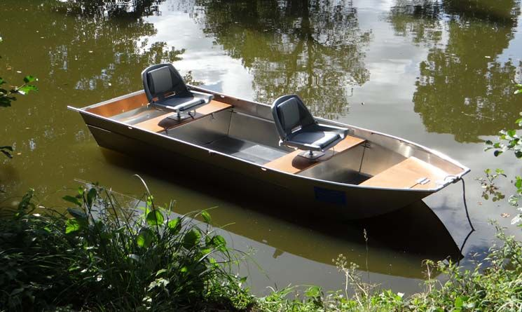 Barque en aluminium - Siège_3