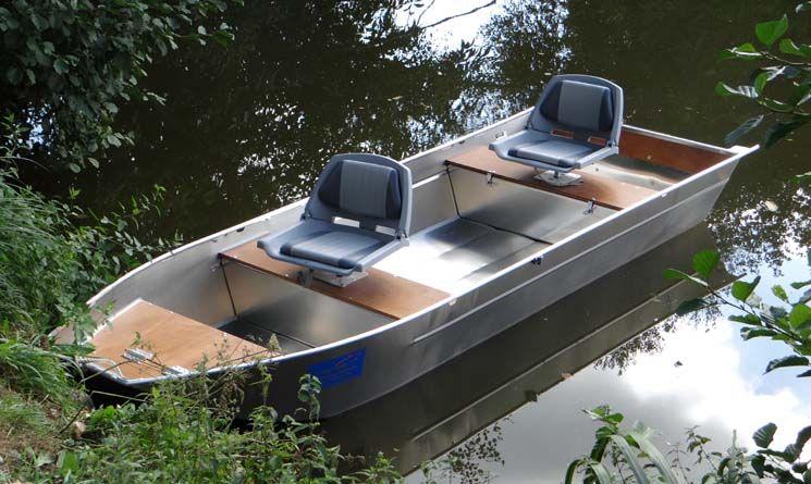 Barque en aluminium - Siège_5