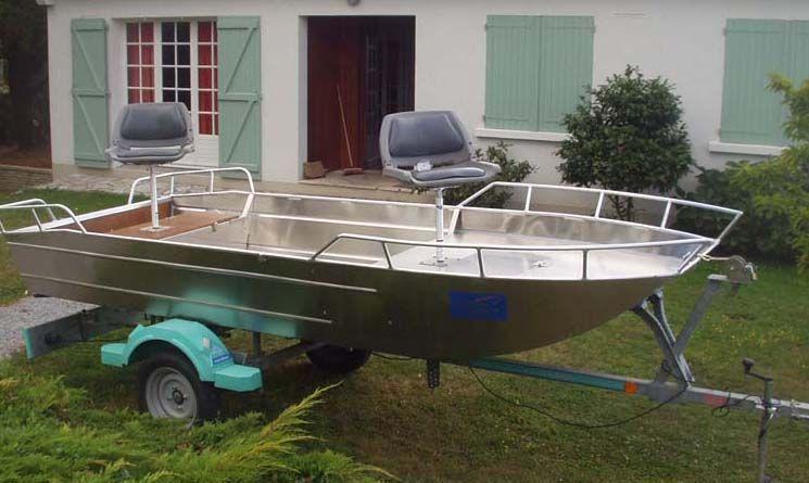 Barque en aluminium - Siège_8