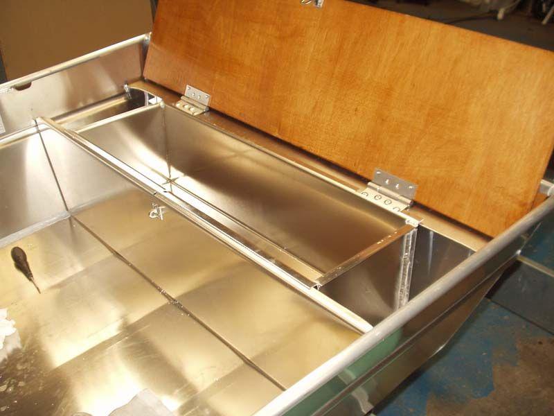 Barque fait main en aluminium -vivier_10