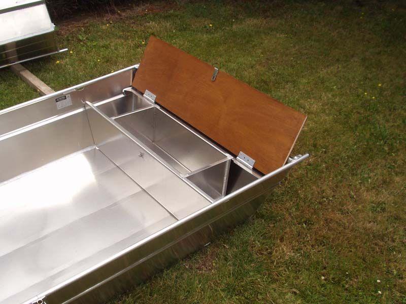 Barque fait main en aluminium -vivier_12
