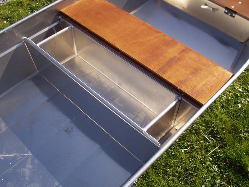 Barque fait main en aluminium -vivier_13