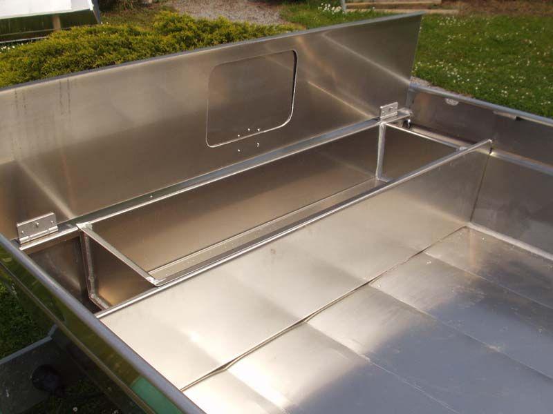 Barque fait main en aluminium -vivier_15
