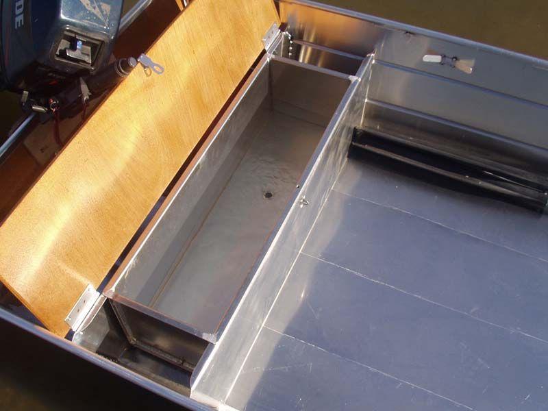 Barque fait main en aluminium -vivier_18