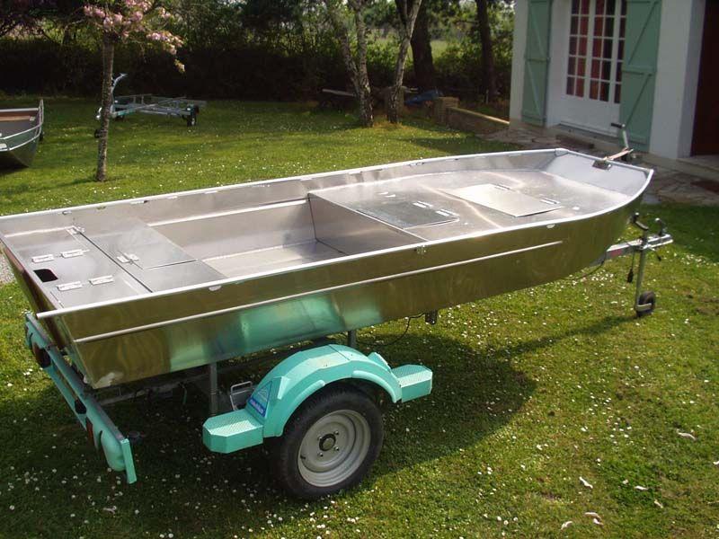 Barque fait main en aluminium -vivier_5