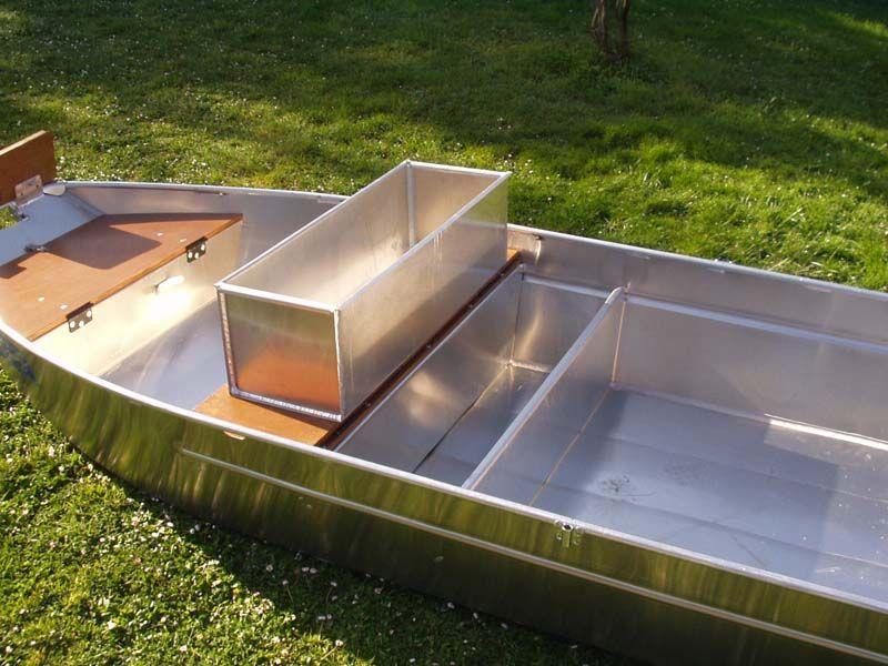 Barque fait main en aluminium -vivier_8