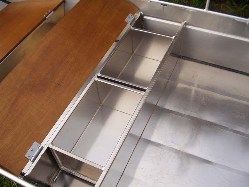 Barque fait main en aluminium -vivier_9