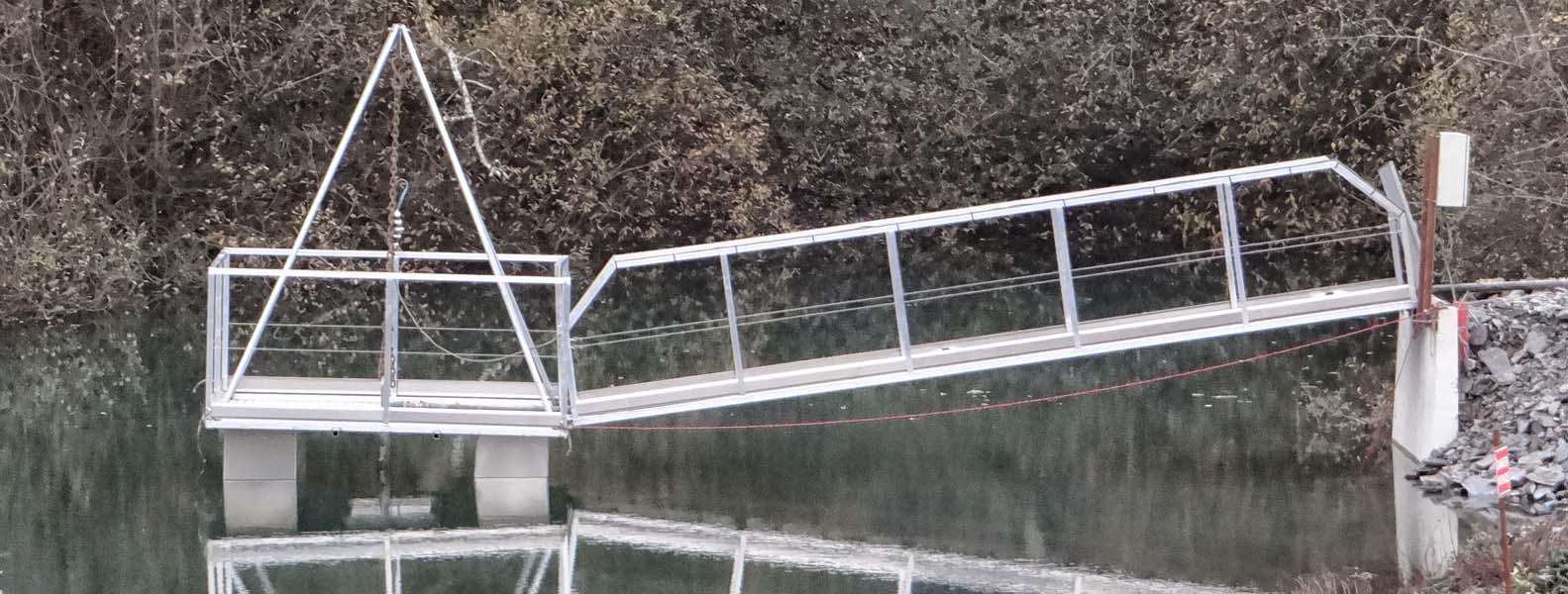 ponton aluminium