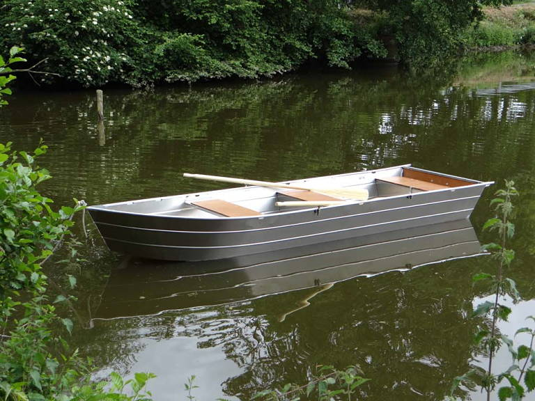 barque alu légère