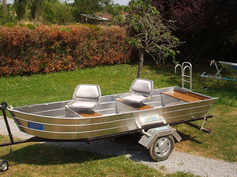 Barque en aluminium - Siège_4